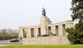 Soviet War Memorial in Berlin, Germany Stock Photography