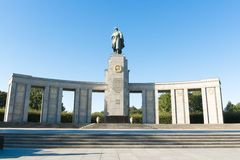 Soviet War Memorial Berlin Stock Photo