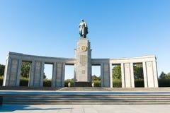 Soviet War Memorial Berlin Stock Photo