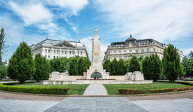 Soviet war memorial in Budapest, Hungary Royalty Free Stock Photography