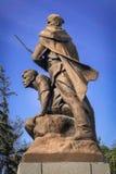 Soviet war memorial in Sevastopol. Memorial to the soldiers of World War II, established in Sevastopol, Crimea Stock Photography