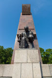 The Soviet War Memorial in Treptow Park Royalty Free Stock Photo