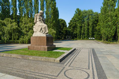 The Soviet War Memorial in Treptow Park Royalty Free Stock Image