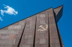 Soviet War Memorial. In the Treptower Park in Berlin Royalty Free Stock Photo