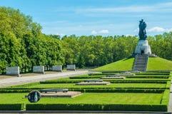 Soviet War Memorial. In the Treptower Park in Berlin Stock Image