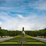Soviet War Memorial in Treptower Park. Soviet War Memorial (Treptower Park, Berlin Royalty Free Stock Photography
