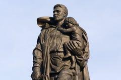Soviet War Memorial. (Treptower Park). Berlin. Germany Stock Image