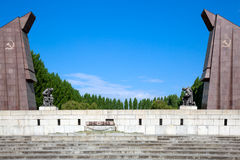 Soviet war memorial, Treptower Park, Stock Images