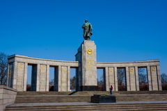 Soviet war memorial, Treptower Park, Berlin, Germany Stock Images