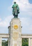 Soviet War Memorial in Treptower Park, Berlin, Germany.  Royalty Free Stock Photography