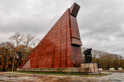 Soviet War Memorial in Treptower Park, Berlin, Germany Stock Image