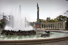 Soviet War Memorial in Vienna royalty free stock images