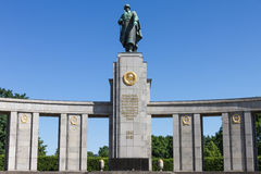 Soviet war monument in Berlin Royalty Free Stock Image
