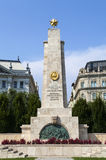 Soviet War Monument in Budapest Stock Photo
