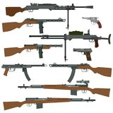 Soviet weapons of World War II Royalty Free Stock Images