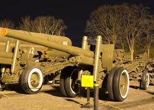 Soviet World War II  122mm gun M1931/37 (A-19) Stock Photo
