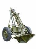 Soviete almofariz de 120 milímetros do WW2. foto de stock