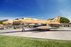 Sovietic Sujoi SU - 22 fighter jet on September 5, 2015. Stock Photography