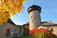 Sovinec - middeleeuws kasteel, Tsjechische republiek Stock Foto