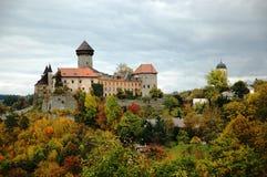 Sovinec-Schloss in Nord-Moray Stockfoto