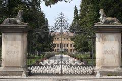 Sovizzo (Italy), Villa Curti Royalty Free Stock Images