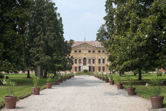 Sovizzo, Villa Curti and the english garden Stock Image