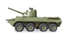 Sovjet gemotoriseerd artilleriekanon 2Ð ¡ 23 Royalty-vrije Stock Foto's