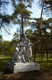 Sovjet monument Stock Foto's
