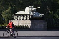 Sovjet oorlogsgedenkteken Stock Afbeelding