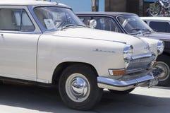 Sovjet retro auto GAZ Volga Stock Foto's