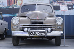 Sovjet retro autogaz M20 Pobeda 1956 versie Royalty-vrije Stock Foto