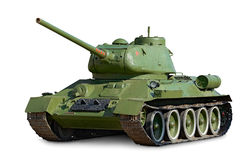 Sovjet tank t-34 Stock Afbeelding