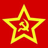 Sovjet tekens Stock Afbeelding