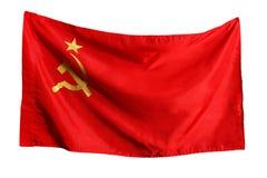 Sovjet vlag Royalty-vrije Stock Foto's