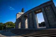 Sovjet War Memorial Royalty Free Stock Photo