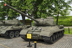 IS1 sovjet Zware Tank Royalty-vrije Stock Afbeelding