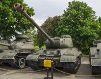 IS2 sovjet Zware Tank Royalty-vrije Stock Afbeeldingen