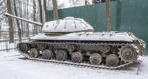 Sovjet zware tank -3 (Voorwerp 703 Jaren van productie 1945-1946 Stock Afbeelding