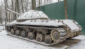 Sovjet zware tank -3 (Voorwerp 703 Jaren van productie 1945-1946 Royalty-vrije Stock Afbeelding
