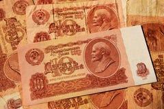 Sovjetgeld Royalty-vrije Stock Foto