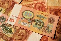 Sovjetgeld Stock Afbeelding