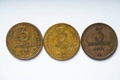Sovjetgeld van de 20ste eeuw royalty-vrije stock foto