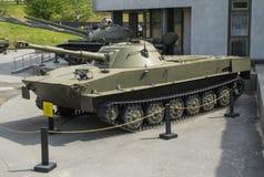 Sovjetisk amfibisk ljus behållare PT-76 Royaltyfria Foton