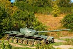 Sovjetisk behållare för huvudsaklig strid T-72 fotografering för bildbyråer