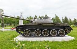 Sovjetisk behållare T-54 Royaltyfria Bilder