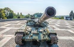 Sovjetisk behållare T-64 Royaltyfri Foto