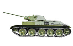 Sovjetisk behållare T-34/57 Royaltyfria Foton