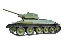 Sovjetisk behållare T-34/76 Fotografering för Bildbyråer