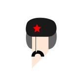 Sovjetisk grabb royaltyfri illustrationer