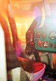 Sovjetisk helikopter Royaltyfria Foton